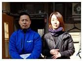 関西クリーンサービスのお客様との写真