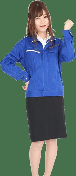 関西クリーンサービスの女性スタッフ