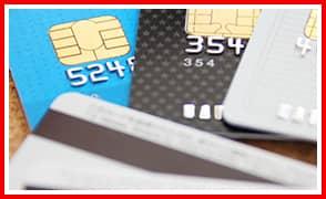 各種クレジットカードに対応