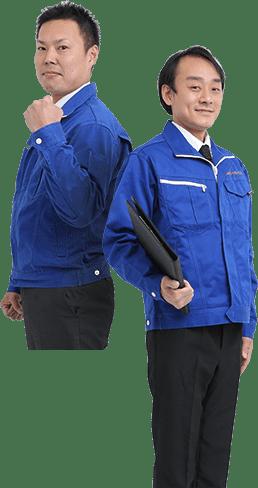 関西クリーンサービスの男性スタッフ